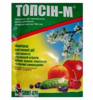 Топсин-м: описание, свойства и способ применения
