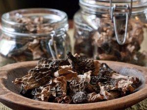 Как сушить белые грибы в микроволновке