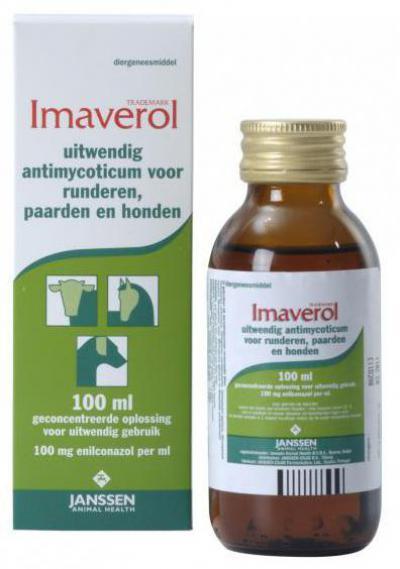 Имаверол - инструкция, описание, дозировка - Противогрибковые средства - ветеринарный препарат