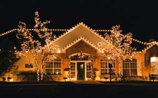 Подсветка дома: основные правила