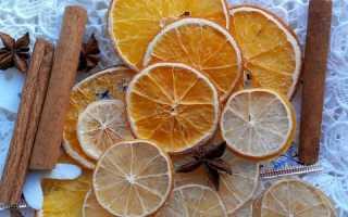 Как высушить лимон для декора