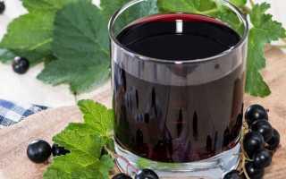 Домашнее вино из черной смородины пошаговый рецепт быстро и просто от Ирины Наумовой
