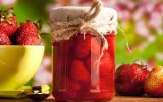 Как сварить густое варенье из клубники: классический рецепт