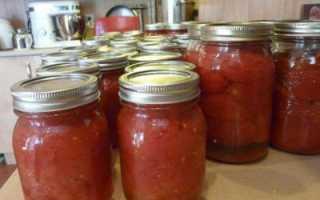 Как сделать помидоры в собственном соку легко и быстро