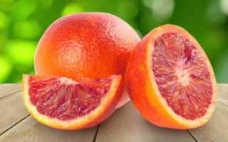 Кровавый апельсин, сицилийский фрукт с красной мякотью гибрид чего