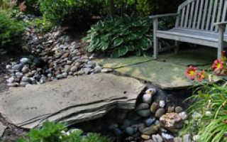 Сухой ручей в ландшафтном дизайне сада и пошаговая инструкция как сделать своими руками фото поэтапно