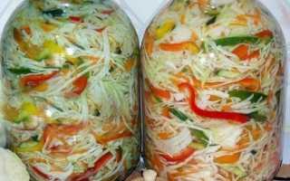 Заготовка капусты на зиму: лучшие рецепты с фото, секреты приготовления ароматной закуски