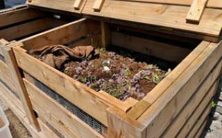 Компостная яма: как выбрать вариант конструкции и соорудить яму своими руками