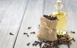 Масло из гвоздики: полезные свойства и применение