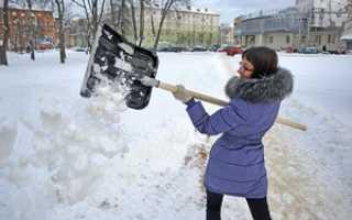 Лопата для уборки снега: как сделать инструмент своими руками из разных материалов