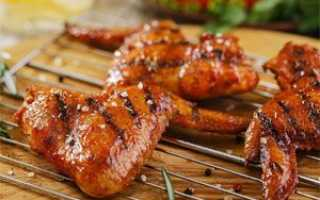 Маринад для крылышек барбекю, как замариновать на мангале или гриле