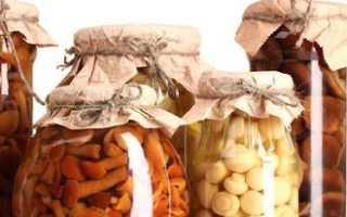 Маринованные грибы: состав, польза и вред, как мариновать грибы