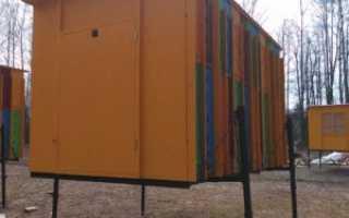 Кассетный павильон «Берендей»: описание, конструкция, особенности, изготовление