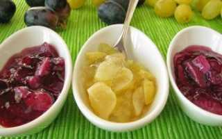 Варенье из винограда на зиму: пошаговые рецепты чудо-лакомства