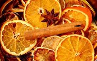Сушеные апельсиновые дольки: как сушить апельсины для декора и для кулинарных целей