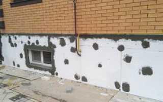 Утепление фундамента дома и цоколя своими руками снаружи