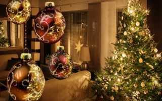 Примеры креативного украшения офиса к новому году с фото