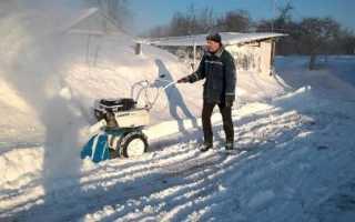 Снегоуборщик для мотоблока — Нева: советы по выбору снегоуборочной приставки и насадки на мотоблок
