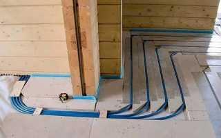 Теплые полы в деревянном доме: как сделать своими руками, устройство по лагам с подогревом, в частном брусовом, конструкция