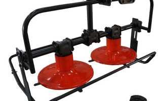 Роторная косилка для мотоблока: разновидности, особенности конструкции, применение