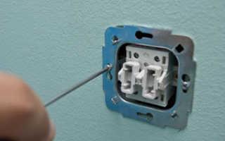 Установка и монтаж одноклавишного электровыключателя: пошаговая инструкция, как правильно установить