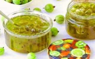 Варенье из крыжовника: лучшие рецепты заготовки полезных ягод на зиму