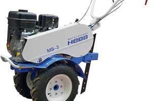 Мотоблок Нева МБ-3 технические характеристики, цена, отзывы владельцев и навесное оборудование