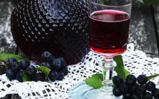 Как сделать вино из черноплодной рябины в домашних условиях: простой рецепт