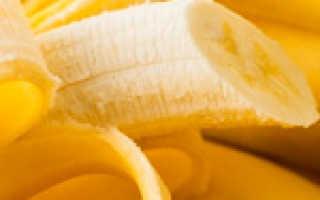 Калорийность банана, полезные свойства, банановая диета польза и вред