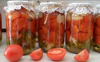 Салаты из помидоров на зиму – простые и вкусные заготовки