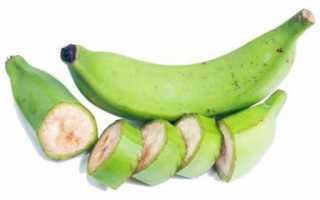 Зеленые бананы: польза и вред, свойства, калорийность