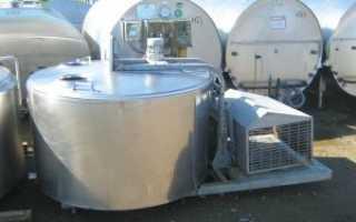 Охладители молока закрытого и открытого типа