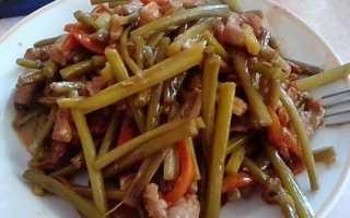 Жареные чесночные стрелки – самые вкусные рецепты