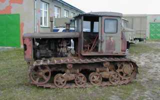 Трактор ДТ-54: технические характеристики, фото
