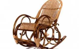 Как сделать кресло качалку своими руками: варианты изготовления, чертежи, фото