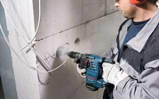 Как сделать монтаж розетки в бетонной стене: подготовительные работы и установка устройства